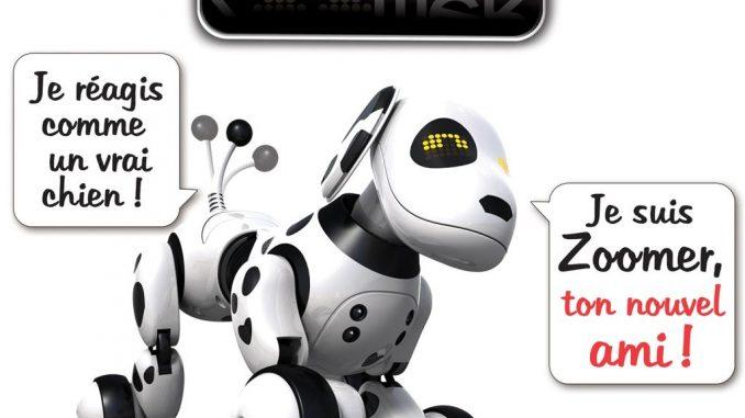Chien zoomer robot interactif pour enfant