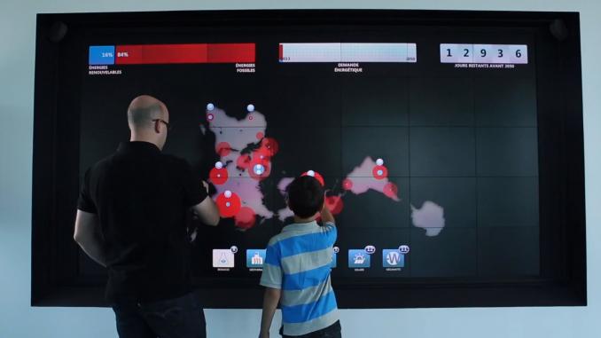 L'écran tactile sous Android
