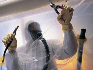 travaux de décontamination d'amiante